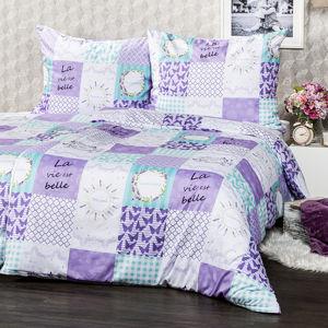 4Home Lavender micro ágynemű, 220 x 200 cm, 2 db - 70 x 90 cm, 220 x 200 cm, 2 db 70 x 90 cm