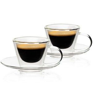 4home Elegante HotCool thermo espresso csésze 80 ml, 2 db