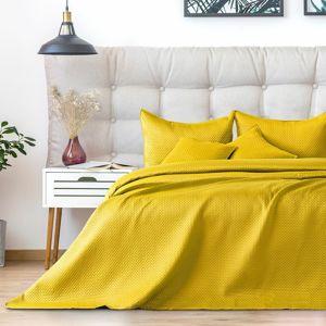 AmeliaHome ágytakaró Carmen honeyyellow, 220 x 240 cm