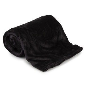 Aneta takaró, fekete, 150 x 200 cm