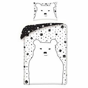 Bear gyermek pamut ágynemű, 140 x 200 cm, 70 x 90 cm