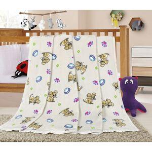 Bellatex Ella Kiskutya gyermek takaró, 100 x 155 cm