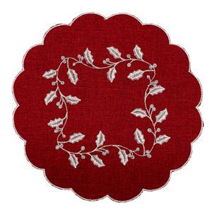 Cesmina abrosz, piros, átmérő: 35 cm
