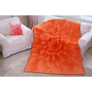 Domarex Harmony takaró, narancssárga, 150 x 200 cm