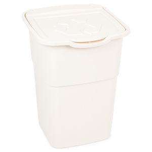 Eco Master szelektív hulladékgyűjtő kosár, 50 l, fehér