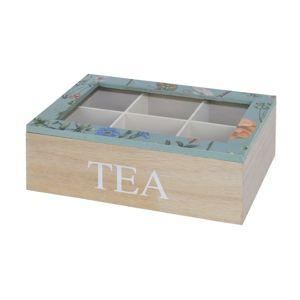 Koopman Kisvirág teafiltertartó doboz, kék
