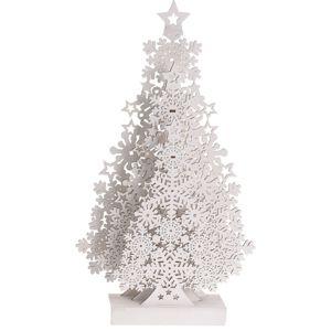 Koopman Tree with Snowflakes karácsonyi dekoráció, 48 cm