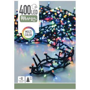 Koopman Twinkle karácsonyi fényfüzér, színes, 400 LED-es