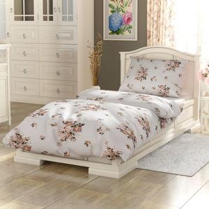 Kvalitex Provence Adél pamut ágynemű, bézs, 240 x 200 cm, 2 db 70 x 90 cm, 240 x 200 cm, 2 db 70 x 90 cm