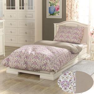 Kvalitex Provence Narista pamut ágynemű bézs, 240 x 220 cm, 2 db 70 x 90 cm, 240 x 220 cm, 2 db 70 x 90 cm