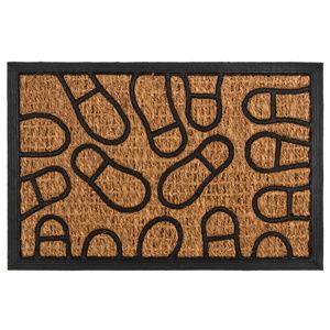 Trade Concept Lábnyomok kókusz lábtörlő, 40 x 60 cm