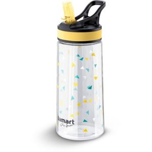 Lamart LT4035 Sport palack Straw 0,5 l, sárga