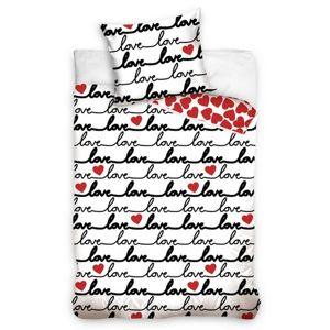 Love pamut ágynemű, 140 x 200 cm, 70 x 90 cm