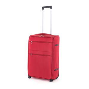 Pretty UP textil utazóbőrönd TEX15 M, piros
