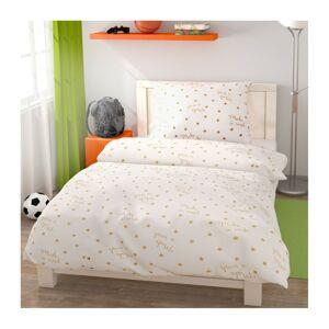 Stars gyermek pamut ágynemű, 140 x 200 cm, 70 x 90 cm