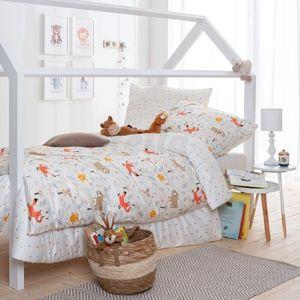 Stella Ateliers gyermek pamut ágynemű Robin Wood, 135 x 200, 70 x 90 cm