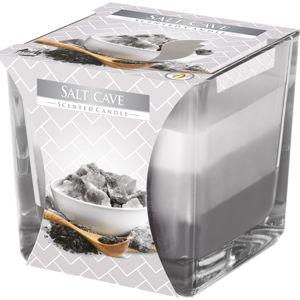 Szivárvány Sóbarlang illatgyertya üvegpohárban, 170 g