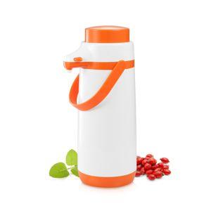 Tescoma FAMILY COLORI termosz palack pumpával, 1,7 l, narancssárga