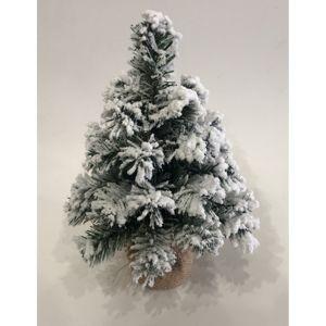 Tiga havas karácsonyfa jutában, 30 cm