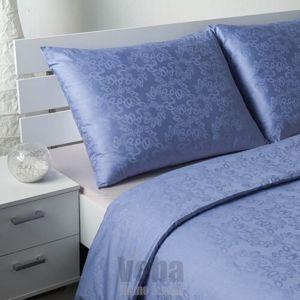 Veba Geon Buborékok damaszt ágynemű, lila, 140 x 220 cm, 70 x 90 cm, 140 x 220 cm, 70 x 90 cm