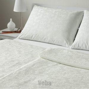 Veba Geon Buborékok damaszt ágynemű, tejszín, 140 x 220 cm, 70 x 90 cm, 140 x 220 cm, 70 x 90 cm