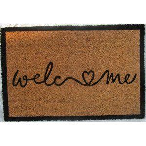 Welcome Love kókusz lábtörlő, 40 x 60 cm