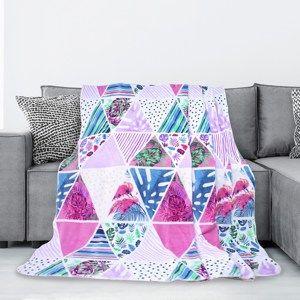 AmeliaHome Kaleidoscope takaró, 150 x 200 cm