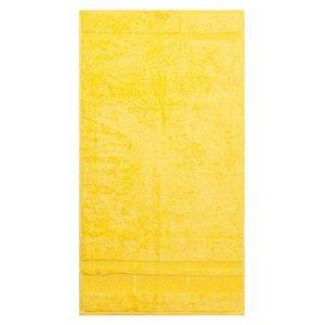Bamboo törölköző, sárga, 50 x 90 cm