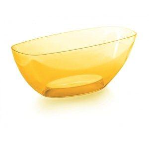 Coubi dekoratív tál, sárga, 36 cm, 36 cm