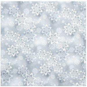 Csillagok karácsonyi abrosz, ezüst, 35 x 35 cm, 35 x 35 cm