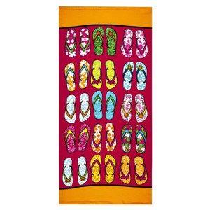 Flip-Flops strandtörölköző, 70 x 150 cm