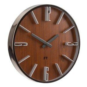 Future Time FT6010TT Numbers Dizájner falióra, átmérő: 30 cm