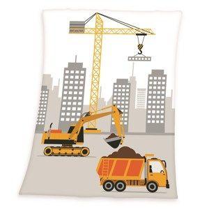 Fynn Építkezésen gyermek pléd, 75 x 100 cm