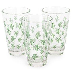 Koopman sivatagi kaktusz pohárkészlet 300 ml, 3 db