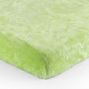 Jahu Mikroplüss lepedő zöld, 180 x 200 cm, 180 x 200 cm