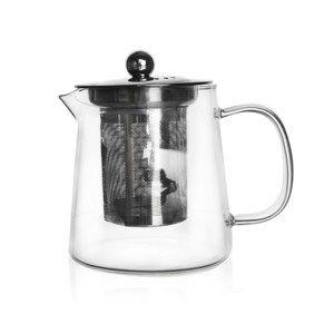 Orion üveg teafőző, szűrővel, 0,6 l